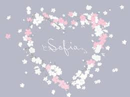 name stickers for girls room baby girl nursery wall decal 036