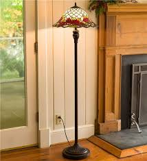 chesterfield tiffany style stained glass floor lamp lamps lighting within stain decorations 18
