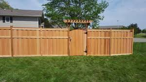 Interior  Exciting Privacy Fence Styles Design And Ideas Cooper Gates For Backyard