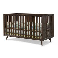 baby furniture images. Lincoln Park 4-in-1 Convertible Euro Crib - Brown Baby Furniture Images