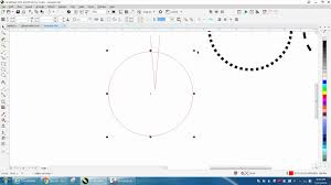Hi guys, just wanna share this tip i always use its converting line into object using ctrl + shift + q thats really helpfull when you work on illustrative design, its make you way more faster. Corel Draw Tips Tricks Dotted Or Dashed Lines Around A Circle Youtube