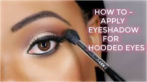 how to apply eyeshadow for hooded eyes omabelletv you