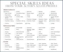 Key Skills Examples Qualifications For Resume In A Resumes