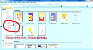1st Birthday Invitations Software Free Invitation Templates Simple