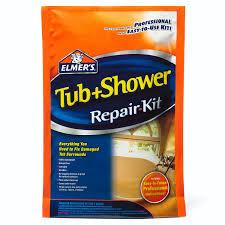 elmer s e786 tub shower repair kit home improvement of devcon bathtub repair kit