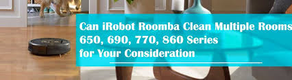 can irobot roomba clean multiple rooms