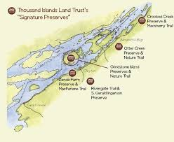Image result for The Thousand Islands Bridge System map