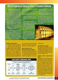 H Why Use Supplemental Lighting For Indoor Or Greenhouse