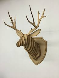 Moose Kitchen Decor Antler Wall Decor Etsy