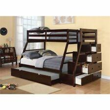 Wildon Home Paloma Mission Twin over Full Bunk Bed with Storage for ...