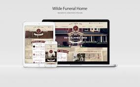 Schweb Design Wilde Funeral Home Website Design Schweb Design Llc