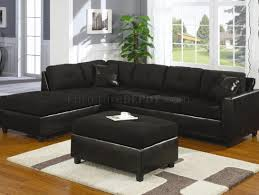 Full Size of Sofa:microfiber Suede Sectional Black Microfiber Faux Leather Contemporary  Sectional Sofa P ...