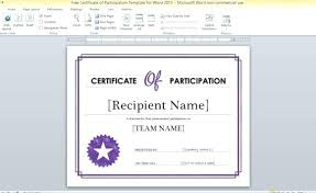 microsoft certificates templates free certificate of parion template for word microsoft gift certificates templates
