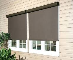 outdoor window treatments coverings exterior solar shades and screens k to z home depot