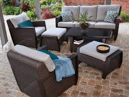brown set patio source outdoor. Patio Amazing Conversation Sets 4 Piece Set Popular Outdoor Throughout 14 Brown Source I