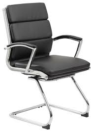 metal office chairs.  metal boss executive caressoftplus chair with metal chrome finish mid back  contemporaryofficechairs in office chairs