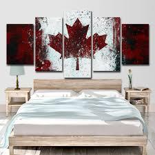 2019 Canada <b>National Flag</b> Poster Wall Art HD <b>Print</b> Canvas ...