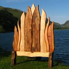 funky wood furniture. Funky Handmade-wooden-bed Wood Furniture K