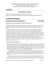 Example Of Cv Resume Amazing Mylissia Smith Resume Paragraph Form CV