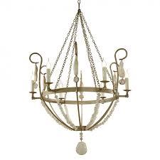 chandelier w scroll arm slika