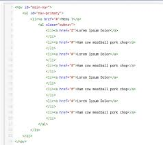 Make A List Com How To Build A Drop Down Menu With Css And Html Itworld