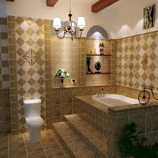 Awesome Beige Tile Bathroom Home Design New Simple In Beige Tile - Beige bathroom designs