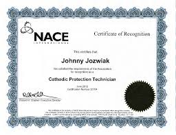 NACE Cathodic Protection Technician (CP2) Cert
