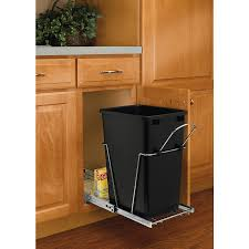 Rev-A-Shelf 35-Quart Plastic Pull Out Trash Can