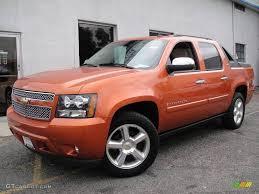 2008 Sunburst Orange Metallic Chevrolet Avalanche LTZ 4x4 ...