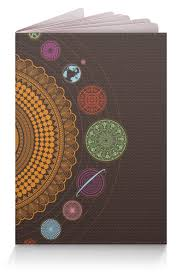 """Обложка для паспорта """"Солнечная система, односторонняя ..."""