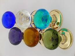 colored glass door knobs. colored glass door knobs interior home decor