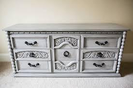 Chalk Paint Dresser Gray Classic yet Fashionable Chalk Paint