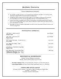 Resume Examples For Hospitality Industry Hospitality Resume Inside