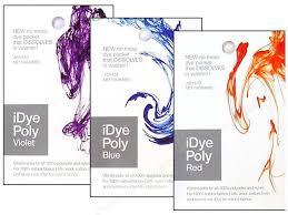 Idye Poly Color Mixing Chart Jacquard Idye Poly