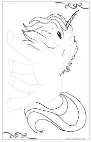 Unicorno Disegni Per Bambini Piccoli Da Stampare E Colorare
