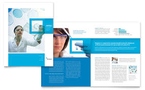 Brochure Templates Pdf Science Chemistry Template Desi On ...