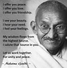 Gandhi Quotes On Peace Extraordinary Social Work And Mahatma Gandhi Part III Of IV PEACE Pinterest