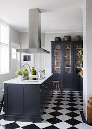 a bold black and white checkered floor in my kitchen would be a