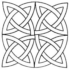 Geometrical Coloring Pages