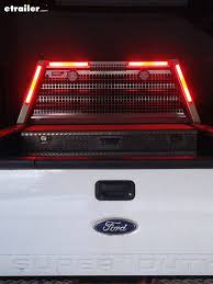 glolight thinline led stop turn tail trailer light 17 long x 1 3 8 wide x 1 deep pickup trucks red led lights and red led