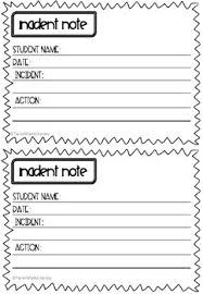 Student Incident Report Template Magdalene Project Org