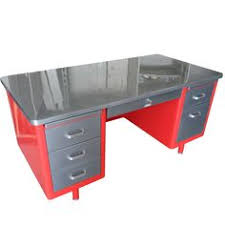 vintage metal office desk. retro office vintage american steel furniture specializes in desks and steelcase tanker metal desk