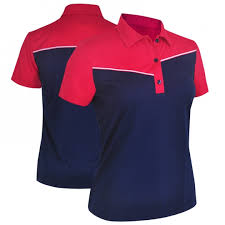 Monterey Club Ladies Plus Size Dry Swing Wild West Short Sleeve Golf Shirts Assorted Colors