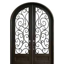 painted double front door. Right Hand Painted Iron Front Double Outswing Exterior Door N