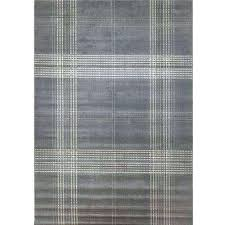 buffalo check area rug plaid grey 8 ft x rugs black and white