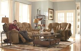 Lazy Boy Living Room Furniture La Z Boy Maverick Reclina Wayar Reclining Sofa Conlins Furniture