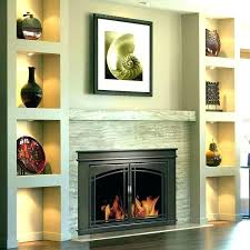 bronze fireplace doors glass firescreen with pleasant hearth oil rubbed glas
