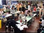 Изготовление одежды фабриками