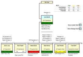 Succession Planning Chart Succession Planner