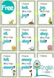 Oi Oy Anchor Chart Phonics Oi Oy Sound Words Game Www Englishsafari In